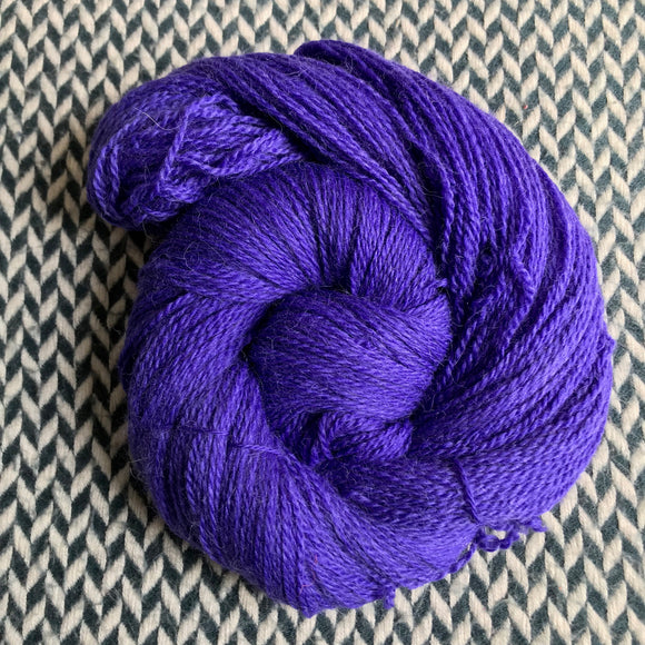 VIOLET VENIMEUX -- Astoria merino/alpaca/nylon fingering yarn -- ready to ship