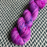 BUBBLEGUM DANCE -- Harlem merino/nylon sock yarn -- ready to ship