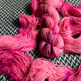 I'M A BARBIE GIRL  -- Harlem sock yarn -- ready to ship