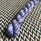 Blue Jeans -- mini-skein -- Randall's Island sport yarn -- ready to ship