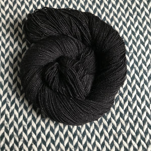 BLACKBIRD -- dyed to order yarn
