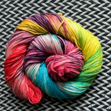 PARTY LIKE  A ROCK STAR -- dyed to order yarn