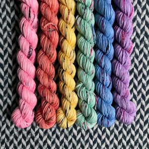 I <3 NY T-Shirt Collection *6 Mini-Skein Set* -- Greenwich Village DK yarn -- ready to ship