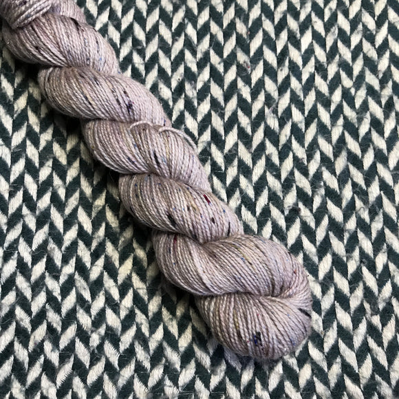 CONCRETE JUNGLE -- Half-Skein -- Broadway sparkle sock yarn -- ready to ship