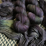 LUNAR TIDES -- Broadway sparkle sock yarn -- ready to ship