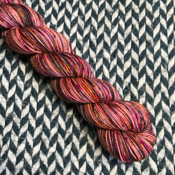 FIREWORKS -- Half-Skein -- Times Square sock yarn -- ready to ship