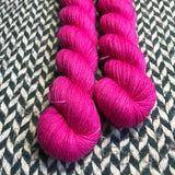 AMOUR ACIDE -- Half-Skein -- Times Square sock yarn --ready to ship
