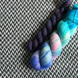 IN A NEW YORK MINUTE -- Times Square sock yarn -- ready to ship