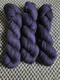 NAVY STORM -- Brooklyn Bridge worsted weight yarn -- ready to ship