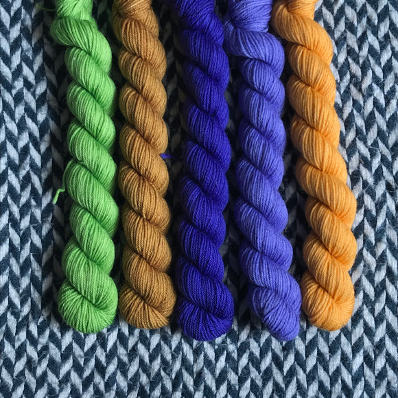 DREAMS -- Times Square sock yarn -- ready to ship