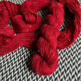 HEART -- dyed to order yarn