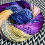 I <3 NY in the SNOW -- dyed to order yarn