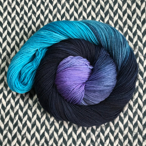 FLUX SHIFT -- Times Square sock yarn -- ready to ship
