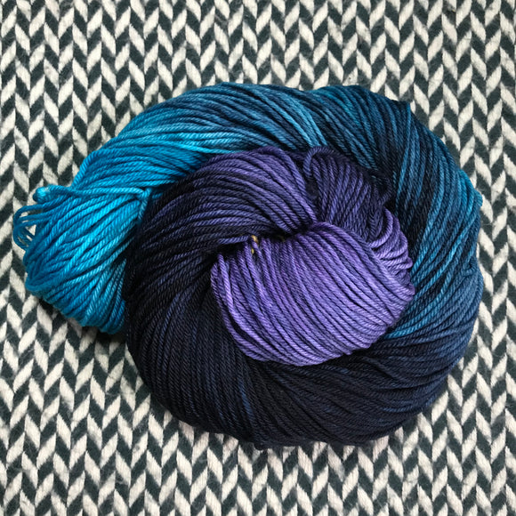 BLACKBIRD -- Brooklyn Bridge Worsted weight yarn -- ready to ship
