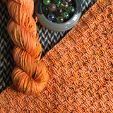 TRAFFIC CONE -- Times Square merino/nylon sock yarn -- ready to ship