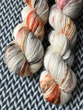 MY FAVORITE DRUMMER -- Times Square sock yarn -- ready to ship