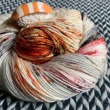 MY FAVORITE DRUMMER -- dyed to order yarn