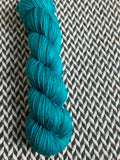 TEAL OWL -- dyed to order yarn