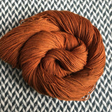 GINGERBREAD -- dyed to order yarn