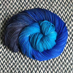 IF I'M A PRINCESS, WHERE'S MY CASTLE -- Broadway sparkle sock yarn -- ready to ship
