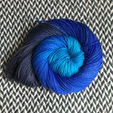 DAMSELFLY -- Tribeca sparkle DK yarn -- ready to ship