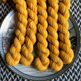 Around the Sun -- mini-skeins -- Times Square sock yarn-- ready to ship
