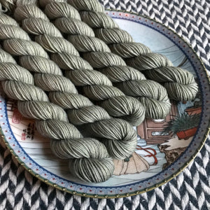 Like a Rolling Stone -- mini-skeins -- Times Square sock yarn-- ready to ship