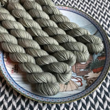 Like a Rolling Stone -- mini-skein -- Times Square sock yarn-- ready to ship