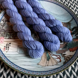 First Officer -- mini-skeins -- Times Square sock yarn-- ready to ship