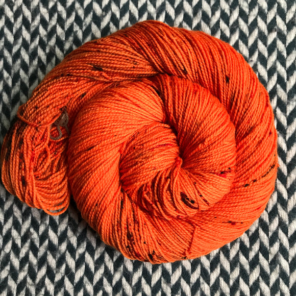 PUNKIN CHUNKIN -- Harlem sock yarn -- ready to ship