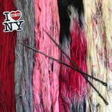 NEW YORK, NEW YORK *5 Skein Set* -- dyed to order yarn