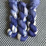 ACID WASH JEANS -- Times Square sock yarn -- ready to ship