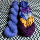 Rachy Shawl Bundle *First Officer and Moonwake 5 Mini-Skein Set* -- ready to ship yarn
