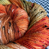 ANNA BALCH -- Alphabet City tweed sock yarn -- ready to ship