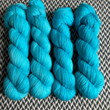 EAU ELECTRIQUE -- Times Square merino/nylon sock yarn -- ready to ship