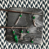 Jalapeño Poppers -- *6 Stitch Marker Set* -- ready to ship