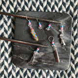 Riptide -- *6 Stitch Marker Set* -- ready to ship
