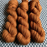 GINGERBREAD -- Flushing Meadows bulky weight yarn -- ready to ship