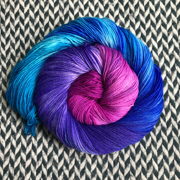 ROYAL ICING -- dyed to order yarn
