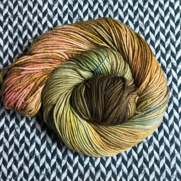 DECIDUOUS -- Greenwich Village DK yarn -- ready to ship