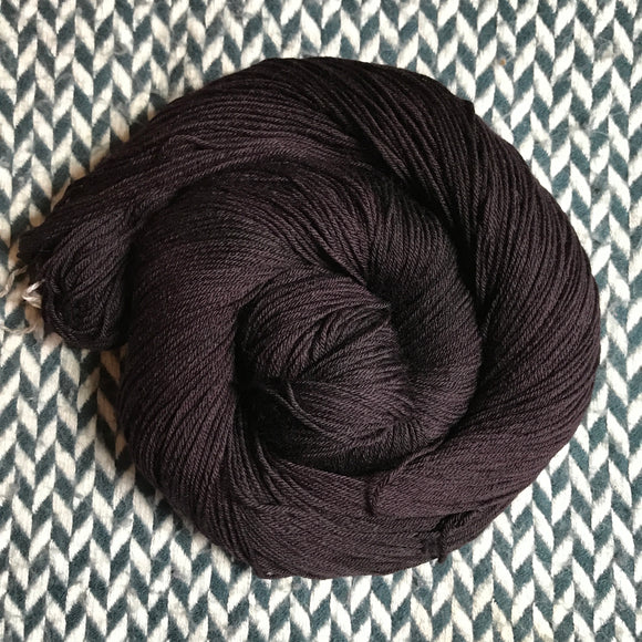 ESPRESSO -- Times Square sock yarn -- ready to ship
