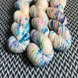 THE COLOR PARROT -- Harlem sock yarn-- ready to ship