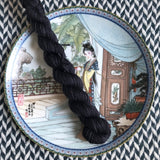 Blackbird -- mini-skeins -- Staten Island Ferry luxury sock yarn-- ready to ship
