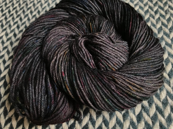BEJEWELED LAVA -- Greenwich Village merino DK yarn -- ready to ship