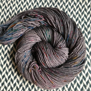 BEJEWELED SLATE -- Greenwich Village merino DK yarn -- ready to ship
