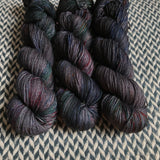 BEJEWELED LAVA -- dyed to order yarn