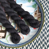 Blackbird -- mini-skeins -- Times Square sock yarn -- ready to ship