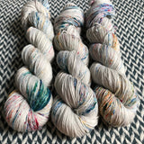 BEJEWELED MOONSTONE -- dyed to order yarn