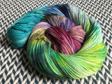 MONET'S AFTERNOON -- Broadway sparkle sock yarn -- ready to ship