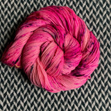 I'M A BARBIE GIRL -- Kew Gardens DK merino/nylon yarn -- ready to ship